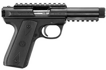 "Ruger 22/45 22 Long Rifle Pistol 4.5"" Threaded Bull Barrel Black Picatinny Rail 10 Round 149P45GMK3PRRP"