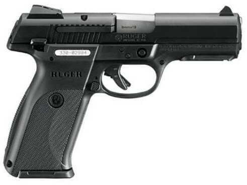 """Pistol Ruger SR9B SR9 9mm Luger 4.14"""" Black 17 Round 3321"""