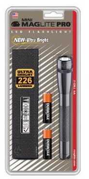 Maglite Mini Mag Led Pro Gray Md: SP2P09H
