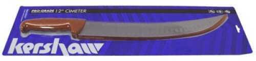 "Kershaw Cimeter 12"" With Granton Blade Brushed Finish 1282X"