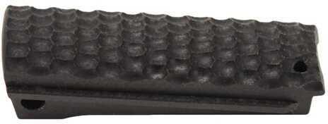 Hogue Colt, 1911 Government Mainspring Housing G-10 Piranha Flat Solid Black 01329