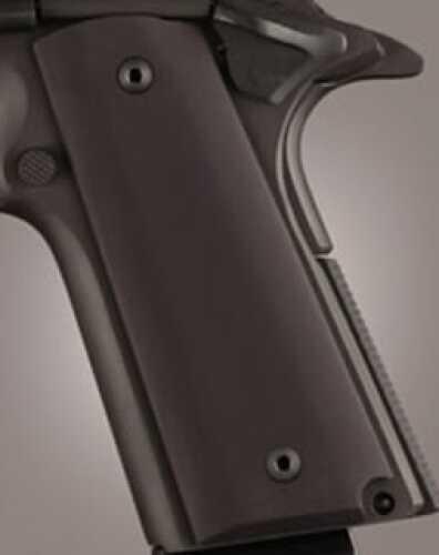 "Hogue 1911 Government/Commander 3/16"" Thin Grips Aluminum Matte Black Anodized 01460"