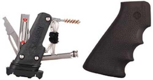 Hogue AR-15 Rubber Grip w/Samson Field Survival Kit Black 15012