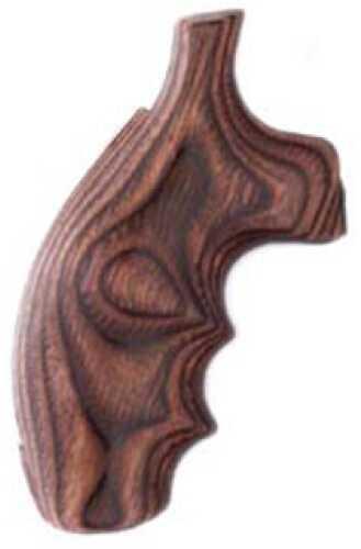 Hogue S&W K/L Frame Round Butt Grips Rose Laminate 19500