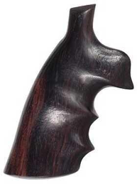 Hogue S&W K/L Frame Round Butt Grips Convert, Rosewood 19902