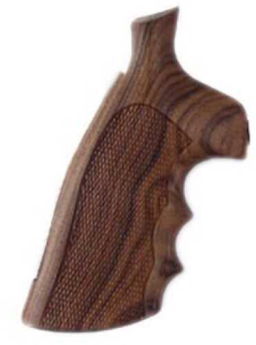Hogue S&W N Frame Square Butt Grips Checkered Pau Ferro 29301