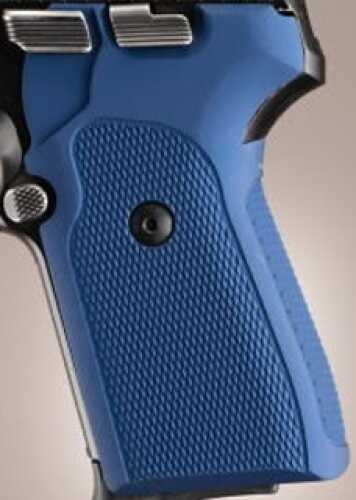 Hogue Sig P239 Grips Checkered Aluminum Matte Blue Anodized 31173