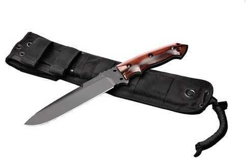 "Hogue EXF01 7"" Fixed Drop Point Blade Black Kote Coco Bolo 35156"