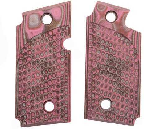 Hogue Sig P238 Grips Pirahna G-10 G-Mascus Pink Lava 38637