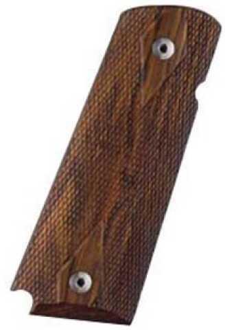 Hogue Colt & 1911 Government Grips Coco Bolo, Checkered 45811
