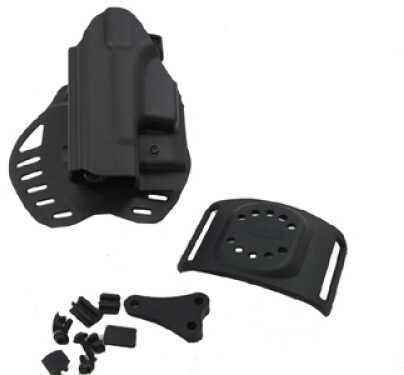 Hogue Glock 26 Holster Left Hand, Black 52116