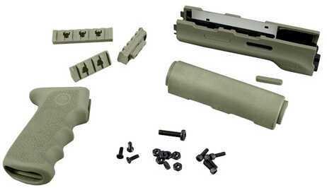 Hogue AK-47 Rubber Grip Yugo Style w/Forend, Black 74218