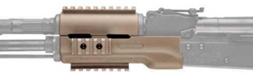 Hogue AK-47 Overmolded Forend Standard, Rubber Grip Area, Desert Tan 74304