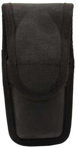 Bianchi 7307 Series AccuMold Mace/Pepper Spray Holder Velcro Closure, Small, Black 17446