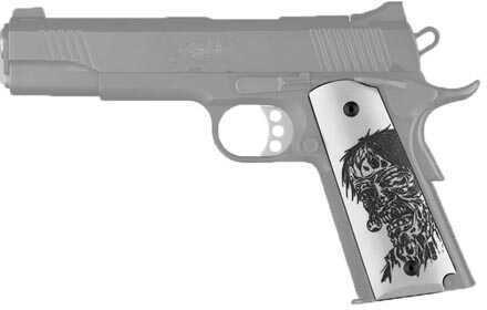 Hogue Scrimshaw Grips Ambidextrous Safety Cut, Zombie 45034