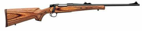 Remington Model 7  223 Remington  18.5'' Blued Barrel   Brown Laminated Stock  With  Rifle Sights