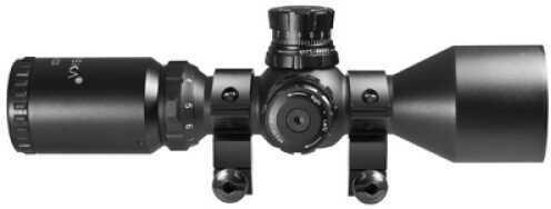 Barska Optics Contour Scope 3-9x42 IR, Mil-Dot Dual Color AC11422