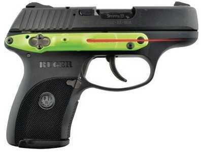 LaserLyte Side Mount Laser Kel-Tec Ruger 9mm Green Body CK-AMF9ZK