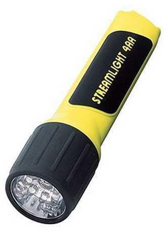 Streamlight 4AA LED w/Alkaline Batteries, Yellow Md: 68201