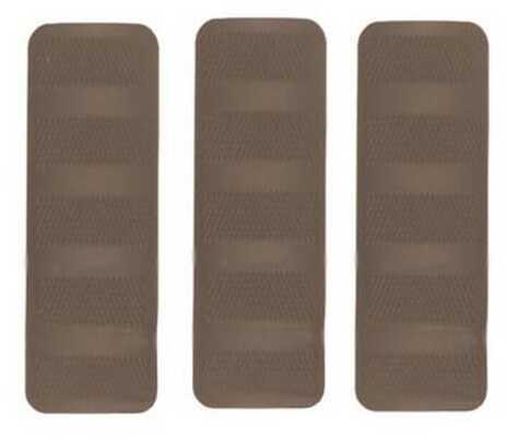 "Troy Industries 4.4"" Battle Rail Cover (Per 3) Tan SCOV-BRC-34TT-00"