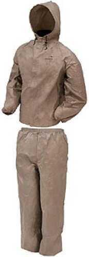 Frogg Toggs Ultra-Lite2 Rain Suit w/Stuff Sack X-Large, Khaki UL12104-04XL