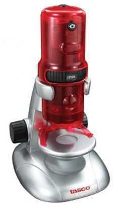 Tasco Digital Microscope Red/Silver 120x 780200T
