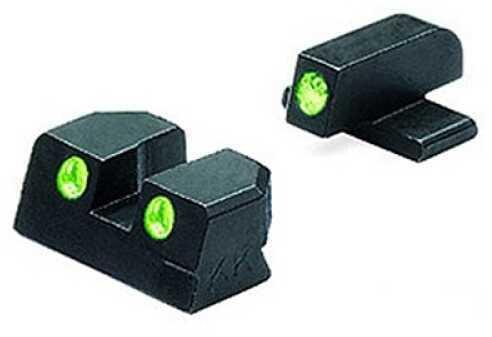 Mako Group Sig Sauer Tru-Dot Sights .40 S&W/.45 ACP, Green/Green, Fixed Set ML10129