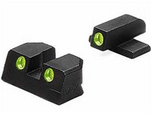 Mako Group Bersa Tru-Dot Sights Thunder 9mm & 40 S&W, Fixed Set ML10240