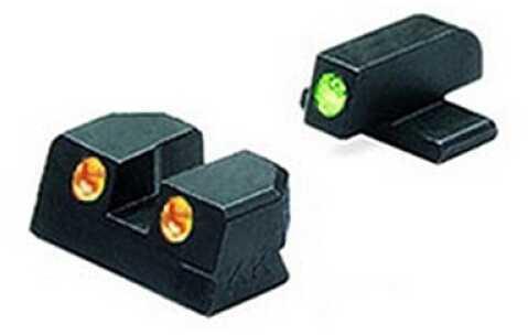 Mako Group Springfield - Tru-Dot Sights XD .45 ACP Green/Orange Fixed Set ML11411 O
