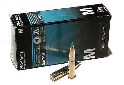 PNW Arms 300 BlackOut 125 Gr Nosler Ballistic Tip HPBT (Per 20) 300BLKHNT125BTIP20