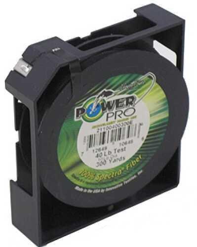 Shimano PowerPro Microfil Line 40 lb, 300 Yards Moss Green 21100400300E