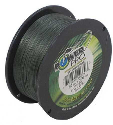 Shimano PowerPro Microfil Line 80 lb, Moss Green 300 Yards Moss Green 21100800300E