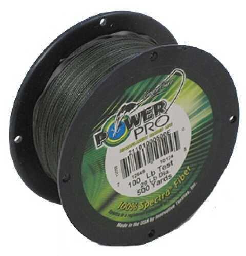 Shimano PowerPro Microfil Line 100 lb, Moss Green, 500 Yards Moss Green 21101000500E