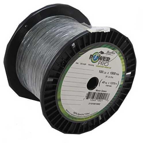 Shimano PowerPro Microfil Line 100 lb, 1500 Yards Moss Green 21101001500E
