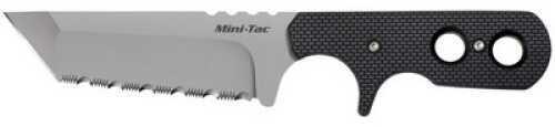 Cold Steel Mini Tac Tanto Serrated w/ Faux G-10 49HTFS
