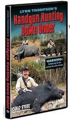 Cold Steel Training DVD Handgun Hunting Down Under VDHH