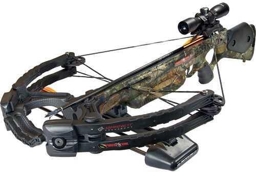 Barnett Predator CRT Pkg -Quiver,Arrows,Scope