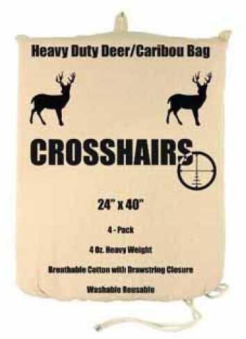 "Humangear 4 oz Game Bag 24"" x 40"" Heavy Duty Deer/Caribou 4-Pack Md: 97003"