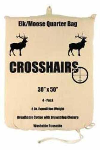 """Humangear 8 oz Game Bag 30"""" x 50"""" Elk/Moose Quarter 4-Pack 97018"""