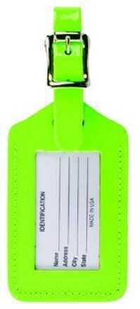 Humangear ID 20 Rectangular Neon Green ID20GRNHT