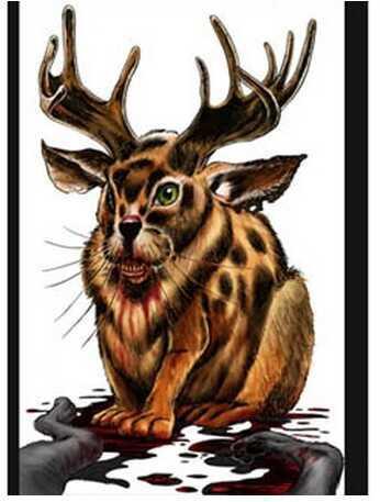 "Birchwood Casey Darkotic 12""x18"" Targets, 100 Per Pack Snack Rabbit 35613"