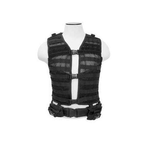 NcStar Molle/Pals Vest Black CPV2915B