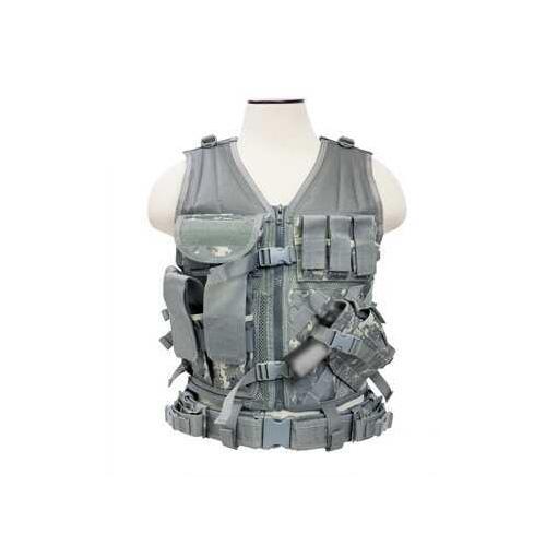 NcStar Tactical Vest Digital Camo CTV2916D