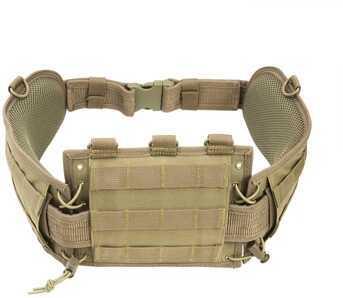 NcStar Battle Belt w/Pistol Belt Tan CVBAB2939T