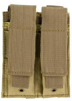 NcStar Double Pistol Mag Pouch Tan CVP2P2931T