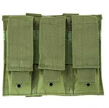 NcStar Triple Pistol Mag Pouch Green CVP3P2932G