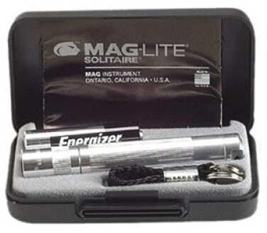 Maglite Solitaire Flashlight Presentation Box, Silver K3A102