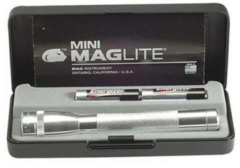 Maglite Mini-Mag Flashlight AA Presentation Box, Silver M2A10L