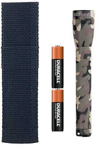 Maglite Mini-Mag Flashlight AA Blister Pack, Universal Camo Pattern M2AMR6