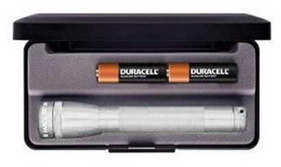 Maglite 2 Cell Led, Mini Maglte AA, Presentation Box, Silver Md: SP22107